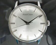 ◆Authentic SEIKO Crown Hand Winding Men's Wrist Watch 21J DiaShock J15003E VTG