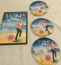 the Wave by the Firm 3 workout DVD set, Ride the Wave, Speed Slimming, Rock Off