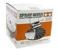 Tamiya Spray Work Painting Stand Carousel Set Free Shipping New Japan Import