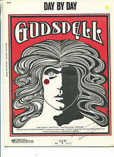 Day By Day From 'Godspell' Words,Music By Stephen Schwartz    Sheet Music