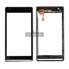 Black Sony Xperia SP M35h M35i M35L C5302 C5303 C5306 Touch Digitizer+Frame
