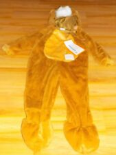 Size 18-24 Months Brown Plush Lion Halloween Costume Jumpsuit New