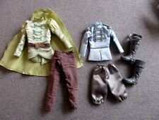 KEN Doll PRINCE 2 Sets Clothes 1 Boots 1 Crown   Lot L4