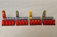 Replacement Lego Heroica: Fortaan Microfigs - 4 HEROES w/ Hero Packs Minifigs