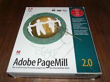 Adobe PageMill 2.0 per Mac versione tedesca, rarità