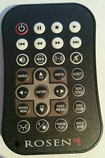 NEW Rosen AC3205 DVD remote control A7/A8/G8/A9/G10 with BATTERIES