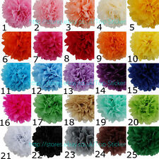 30 Pcs Wedding Party Hanging Tissue Paper Pom Poms Lantern Decor Balls 8''-14''