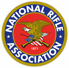 "National Rifle Association NRA sticker decal 4"" x 4"""