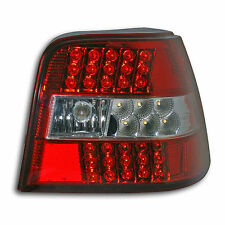 "Tuning Klarglas LED Rückleuchten Golf 4 ""Red-Clear"", Special Price ! Look! NEU!"