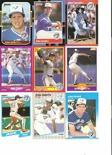 18 CARD JOHN CERUTTI BASEBALL CARD LOT !          50