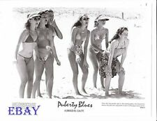 Busty leggy bikini babes VINTAGE Photo Puberty Blues