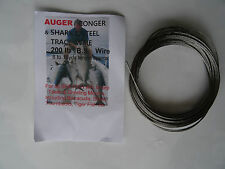 200lb BS Stainless Steel Fishing Wire made in England