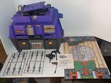 Vintage 1994 GI Joe Street Fighter Shadowloo Headquarters Playset