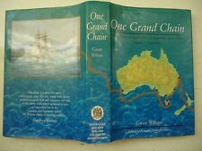 ONE GRAND CHAIN HISTORY OF ANAESTHESIA IN AUSTRALIA 1846-1934 VOL 1 HARDBACK