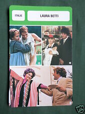 LAURA BETTI - MOVIE STAR - FILM TRADE CARD - FRENCH