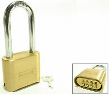 Master Lock 175lh,BRASS!,FREE SHIPPING ORDERS $25 OR MORE,Resettable Combination