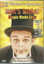 MAX'S MAGIC VOLUME 2 MAGIC MADE EASY DVD (KIDS) - THE FUNNY AND THE FANTASTIC