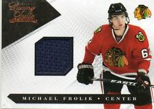 2010-11 Michael Frolik Panini Luxury Suite Jersey #30   193/599    CHICAGO