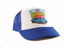 1970's Chevrolet Camaro Trucker Hat mesh hat snapback hat royal blue new