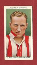 Sheffield United FC JACK PICKERING The Blades England 1935 original vintage card