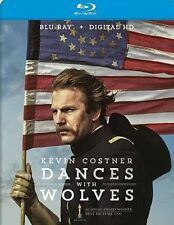 DANCES WITH WOLVES BLURAY & DIGITAL COPY KEVIN COSTNER