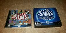 The Sims PC CD-ROM Game 2000 Windows People Simulator & Makin Magic (SEE PHOTOS)