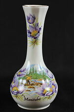 Duchess Vase Bone China Manitoba England Porzellan Royal