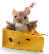 Steiff Pixi Mouse limited edition alpaca collectable in gift box - EAN 021497