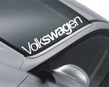 Volkswagen Windscreen Sticker Polo Funny JDM Drift Car Lowered Dub Decal m82