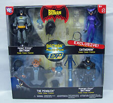 The Batman EXP Four Figure Multipack Exclusive Catwoman Figure Mattel NIP S98-4