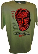 Masque Red Death Vincent Price Edgar Poe Horror Movie Famous Monsters Poster Tee