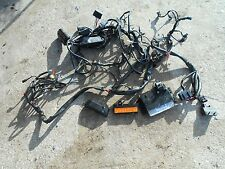 OEM HARLEY DAVIDSON FLT TOURING CLASSIC WIRE HARNESS PARTS LOT & POWER COMMANDER