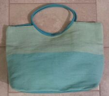THE BODY SHOP LIMITED EDITION SUMMER / BEACH BAG - Blue &Green color