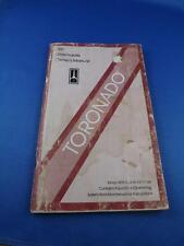 1981 OLDSMOBILE TORONADO OWNERS OPERATORS MANUAL INSTRUCTION GLOVE BOX BOOK