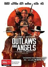Outlaws and Angels R4 DVD - Ex Rental & FREE POSTAGE