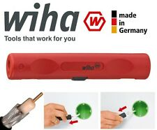 Wiha TV Satélite Coaxial Coaxial de 4.8mm a 7.5mm Cable Wire Stripper cortador, 36051
