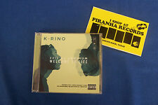 K-Rino Album 06: Welcome To Life Texas Rap CD NEW Piranha Records