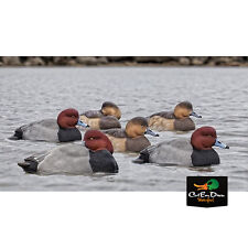 NEW ZINK AVIAN-X TOP FLIGHT REDHEAD RED HEAD DIVER DUCK DECOYS 6 FLOATING