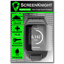 Screenknight Tomtom Runner 2 Frontal Protector De Pantalla Invisible Militar Escudo