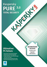 Kaspersky PURE 3.0 TS | 3 PC | 1 Jahr | Vollversion
