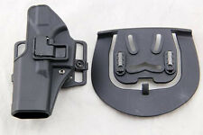 Quick Tactical Left Hand Paddle Holster for Glock 17 18 19 22 23 31 Black