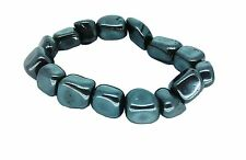 Lucky Aries Birthstone Bracelet Zodiac Astrology Gemstone Hematite