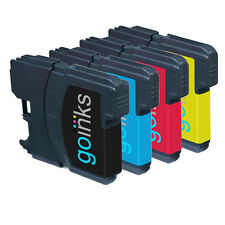 4 Ink Cartridges (1 Set) for Brother DCP-J125 DCP-J140W DCP-J315W DCP-J515W