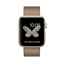 Apple Watch Series 2 42mm Gold Toasted Coffee/Caramel Classic Buckle MNPP2LL/A