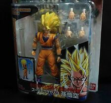 Bandai DragonBall Z DBZ Hybrid Action Super Saiyan 3 SS3 Goku ACTION FIGURE