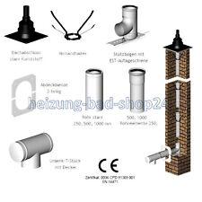 Concentrici Aria Abgas Sistema per Camino 80/125 Caldaia A Condensazione +10 m