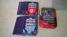 Match Attax 2016/17 Tin + 100 cards + Codes No Swaps