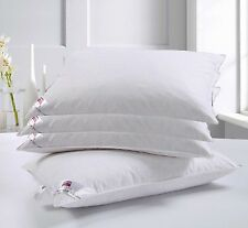 **SPECIAL OFFER** 4 X DUCK FEATHER & DOWN HOTEL QUALITY PILLOWS * NEW RESTOCK