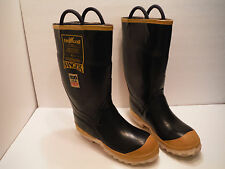 "RANGER SIZE 7 FIREWALKER FIRE WALKER 13"" BOOTS WATERPROOF STEEL TOE FIREMAN NFPA"
