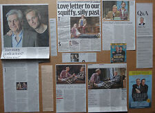 Dear Lupin - Theatre clippings/cuttings/articles pack - James Fox & Jack Fox
